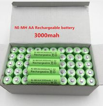 20 Pcs Dolidada New Aa Battery 3000 Mah Rechargeable Battery Ni Mh 1 2 V Aa Battery For Clocks Mice Rechargeable Batteries Toy Camera Electronics Components