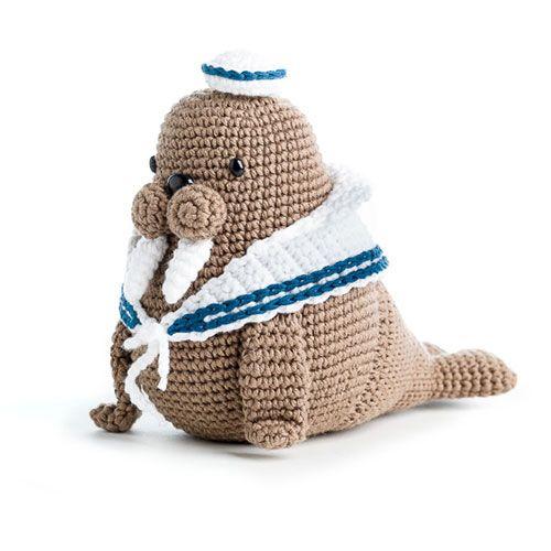 Caterino the walrus, pattern in Zoomigurumi 5 - amigurumi pattern ...