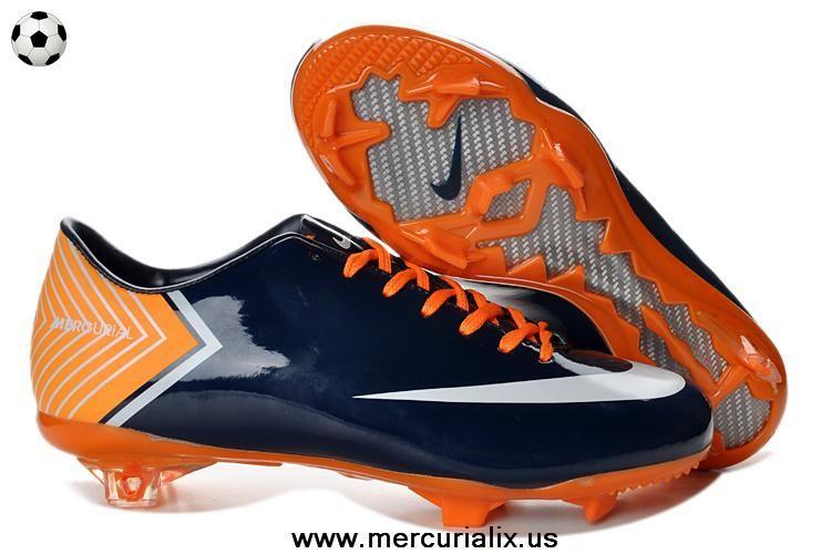 New Nike Mercurial Vapor X FG Dark Blue 2014 Boots