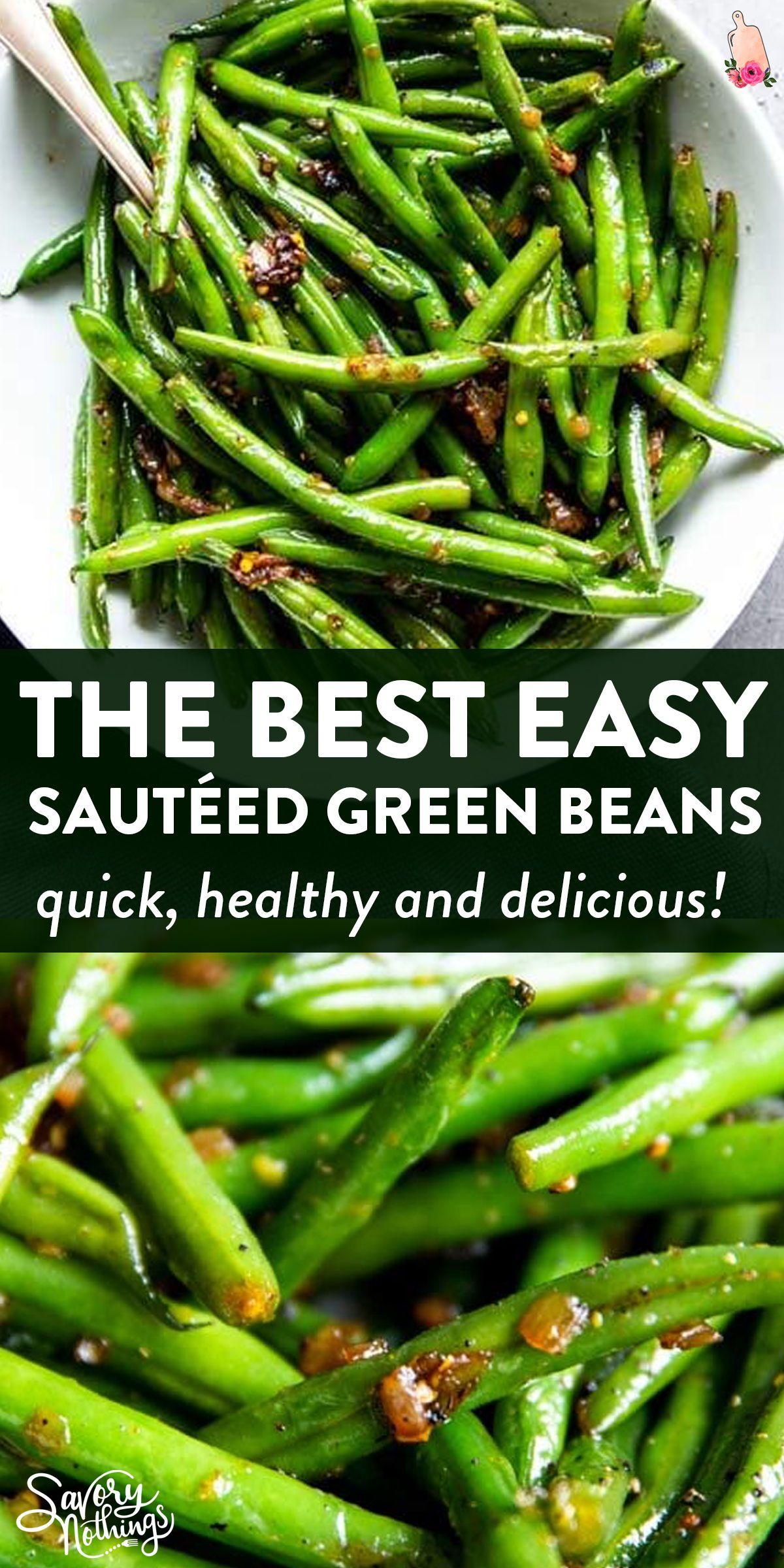 Easy Sautéed Green Beans