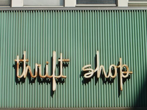 Thrift Shop. So fitting.
