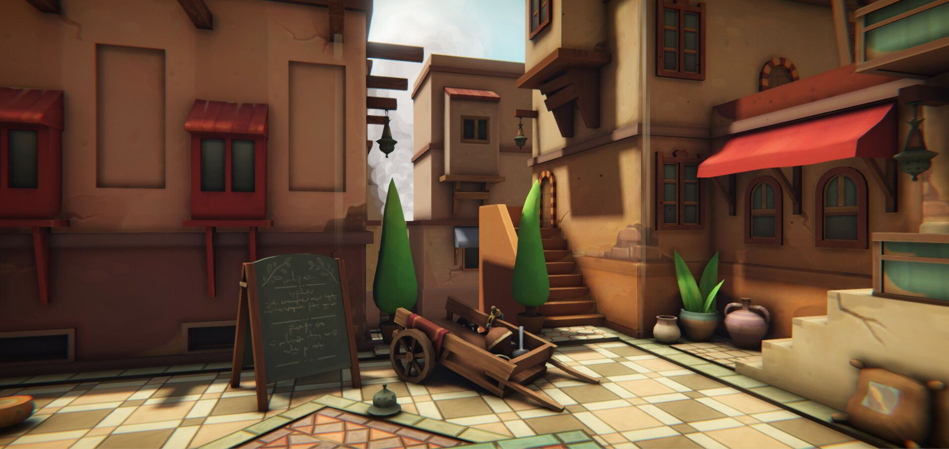 Morocco by Laura MartinotLevel prototype in Unity for a