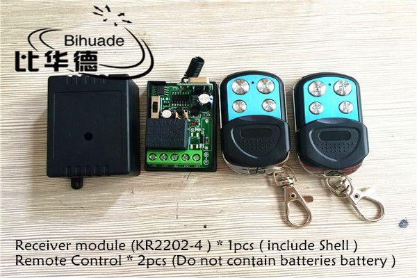 315Mhz Universal Wireless Remote Control Switch DC 12V 1CH