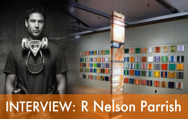 INTERVIEW: Artist R Nelson Parrish Talks About His Eye-Popping Bioresin Color/Fast Installation