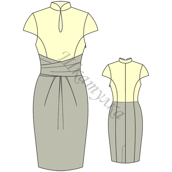 Russian site with free download for this lovely dress | Платья ...