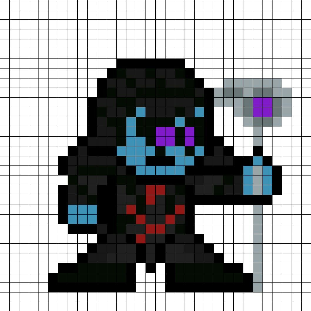 Ronan The Accuser Perler Bead Pattern Melty Bead Patterns