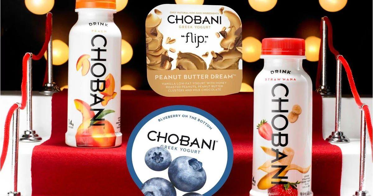 Free Chobani Yogurt With Printable Coupon Chobani Greek Yogurt