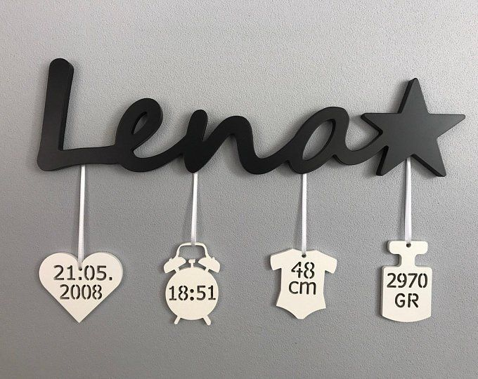 Name plate with dates of birth | Baptism gift #pendantlighting
