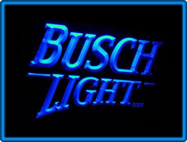 Busch Light Beer Bar Pub Restaurant Neon Light Sign   Neon