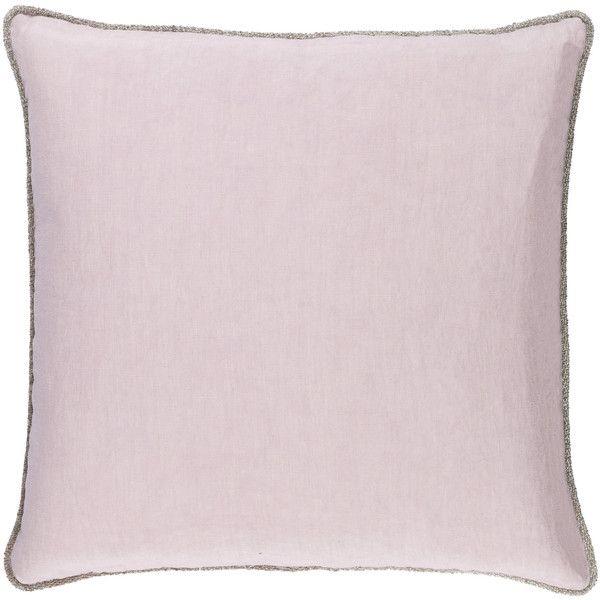 Surya Sasha Lavender Decorative Pillow 95 liked on Polyvore
