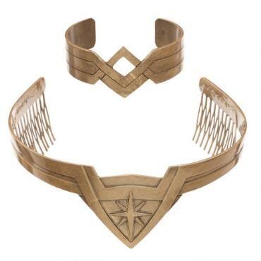 Wonder Woman Cosplay Crown Comb LICENSED
