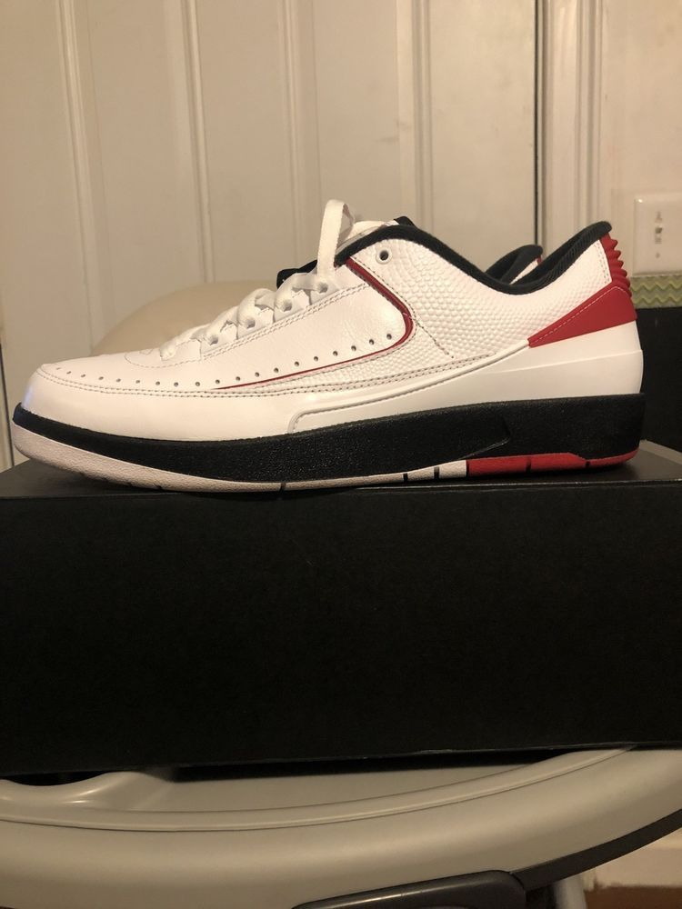 pretty nice 153f2 be948 Air Jordan 2 retro low chicago white red black size 10.5 Brand  fashion   clothing  shoes  accessories  mensshoes  athleticshoes (ebay link)