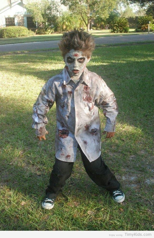 timykids/diy-zombie-halloween-costumes-for-kidshtml - zombie halloween ideas