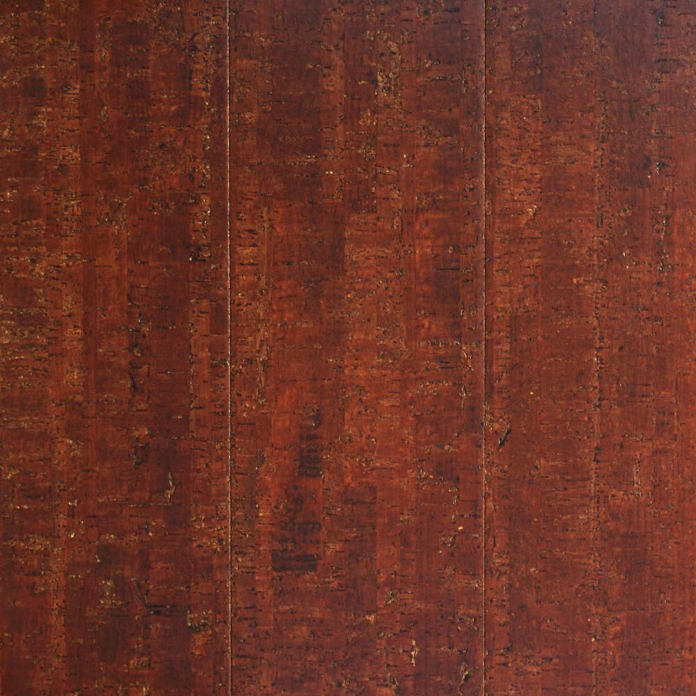 Install A Warm Moisture Resistant Basement Subfloor In A Day: Heritage Mill Smoky Mineral 13/32 In. Thick X 5-1/2 In. Wide X 36 In. Length Plank Cork Flooring