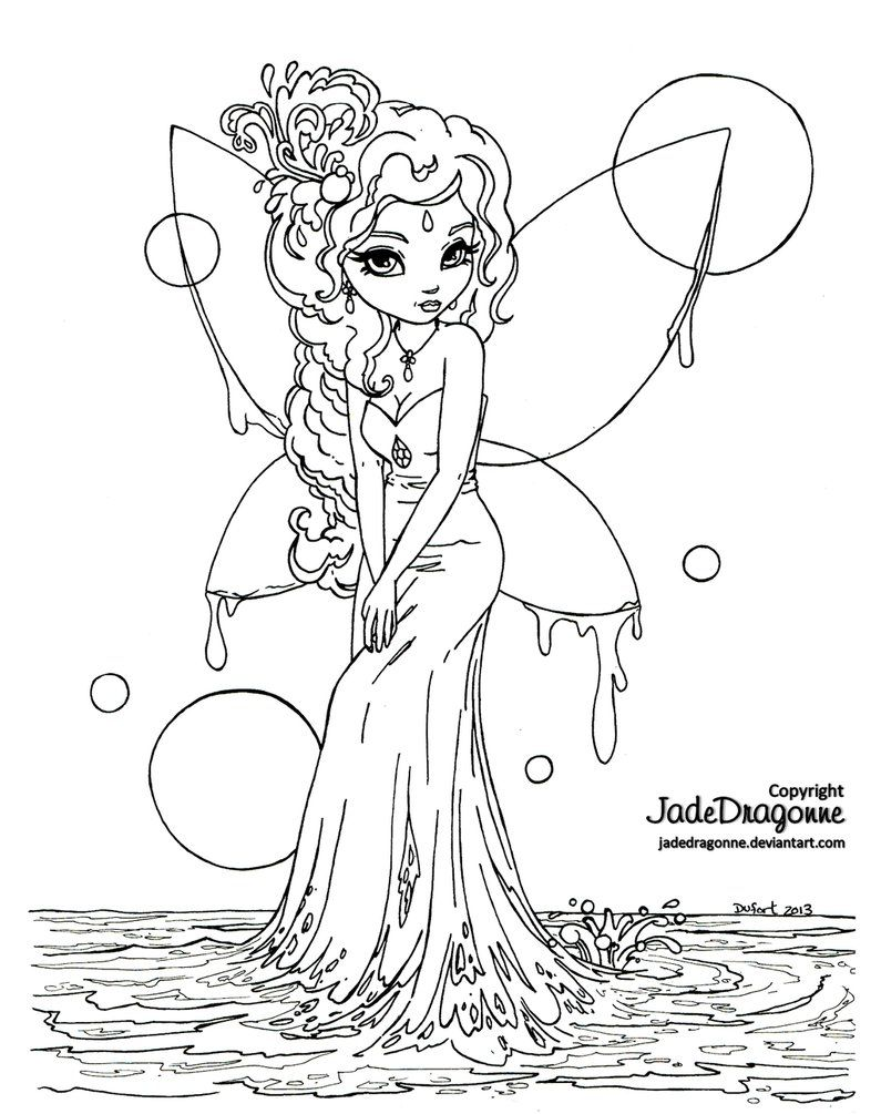 -Traditionnal art - Ink - Part of the Fantasy Land and Pin Up Cutie Pie series To see more Cutie Pie :