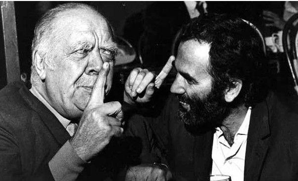 Nunes a París el 1970 en unes converses per portar al cinema El retorno de los brujos | Arts Santa Mònica