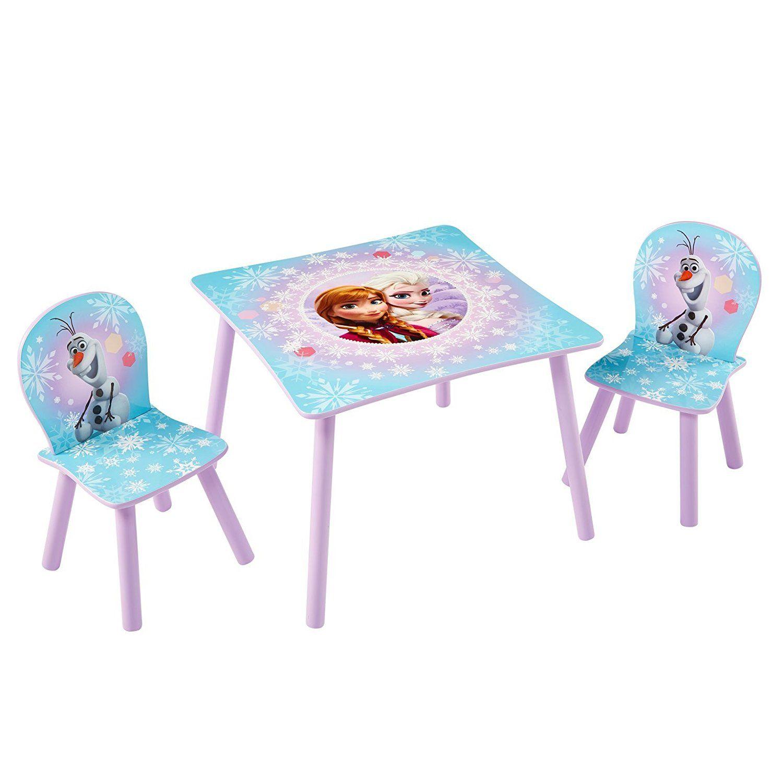 Mickey Mouse Tisch und Stuhl Set 3 tlg., Holz: |