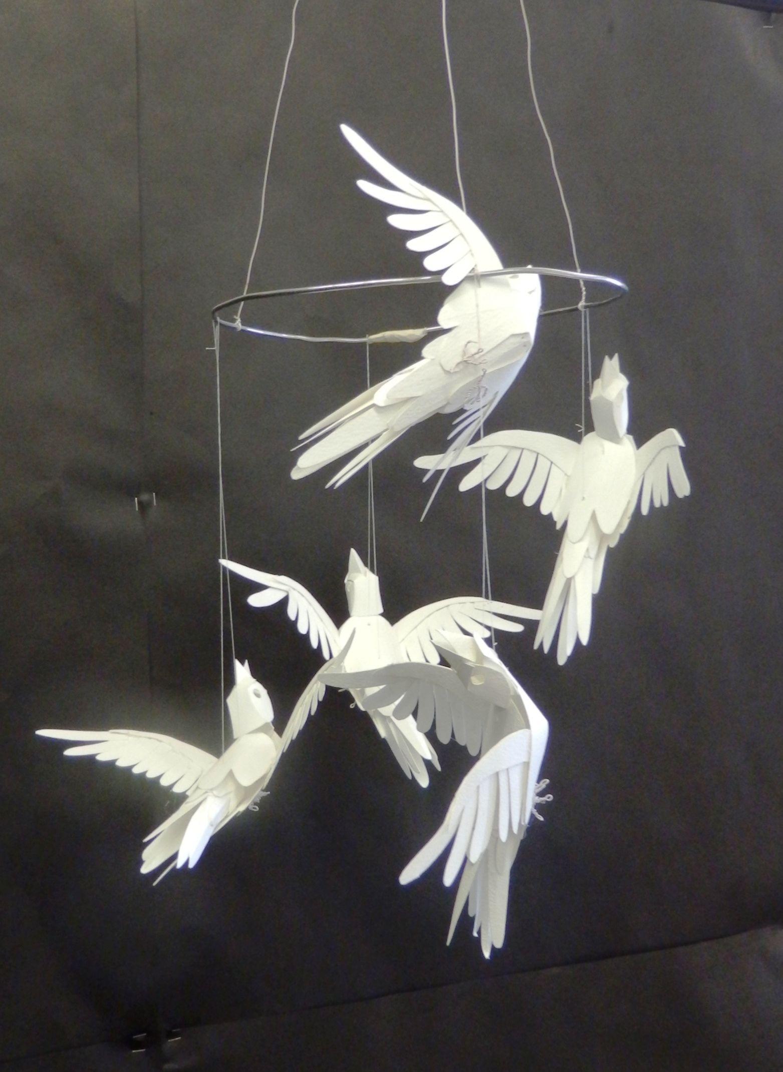 Gcse Art Final Piece By Pupil From Orleans Park School