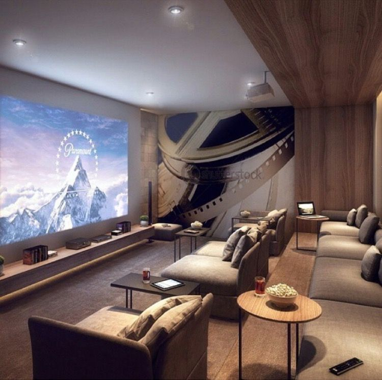 21 Incredible Home Theater Design Ideas Decor Pictures: 40+ Awesome Basement Home Theater Design Ideas