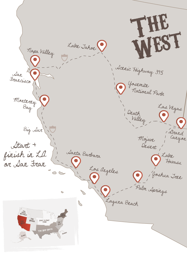 West America Road Trips | The American Road Trip Company
