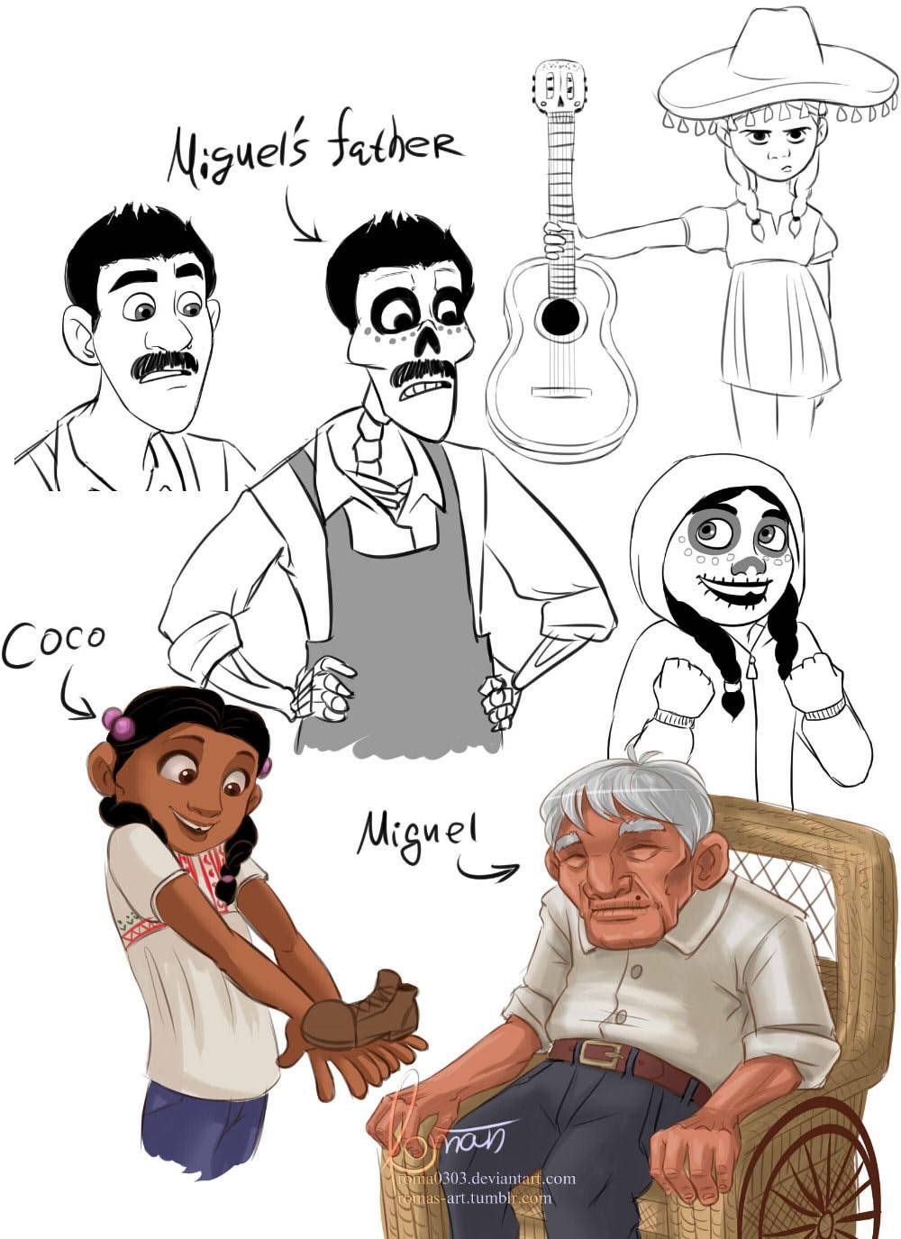 Miguel Rivera Tumblr Coco Disney Dreamworks Disney