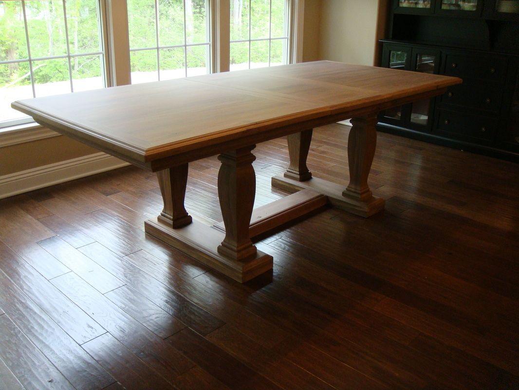 Knock Off Restoration Hardware St. James Rectangular Dining Table.