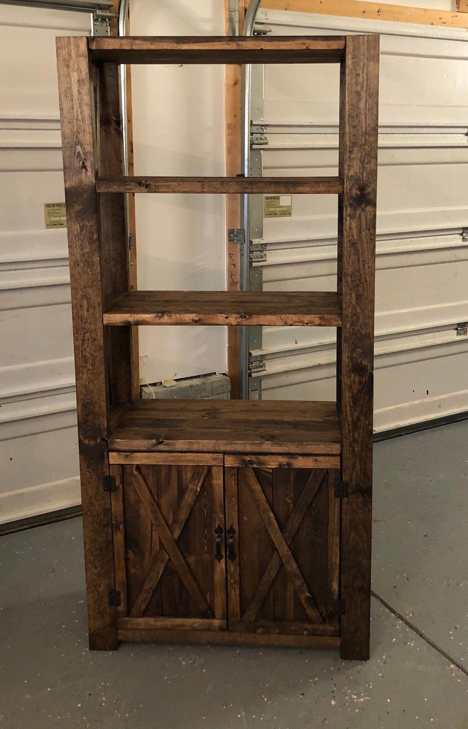Rustic Home Decor Ideas Rusticdecortips Rustic Shelves Rustic Bookcase Rustic Bookshelf