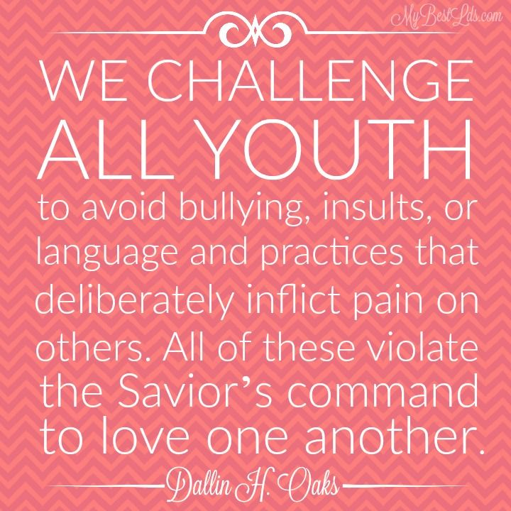 Youth Encouragement Quotes: 22 Powerful General Conference Quotes For When No One