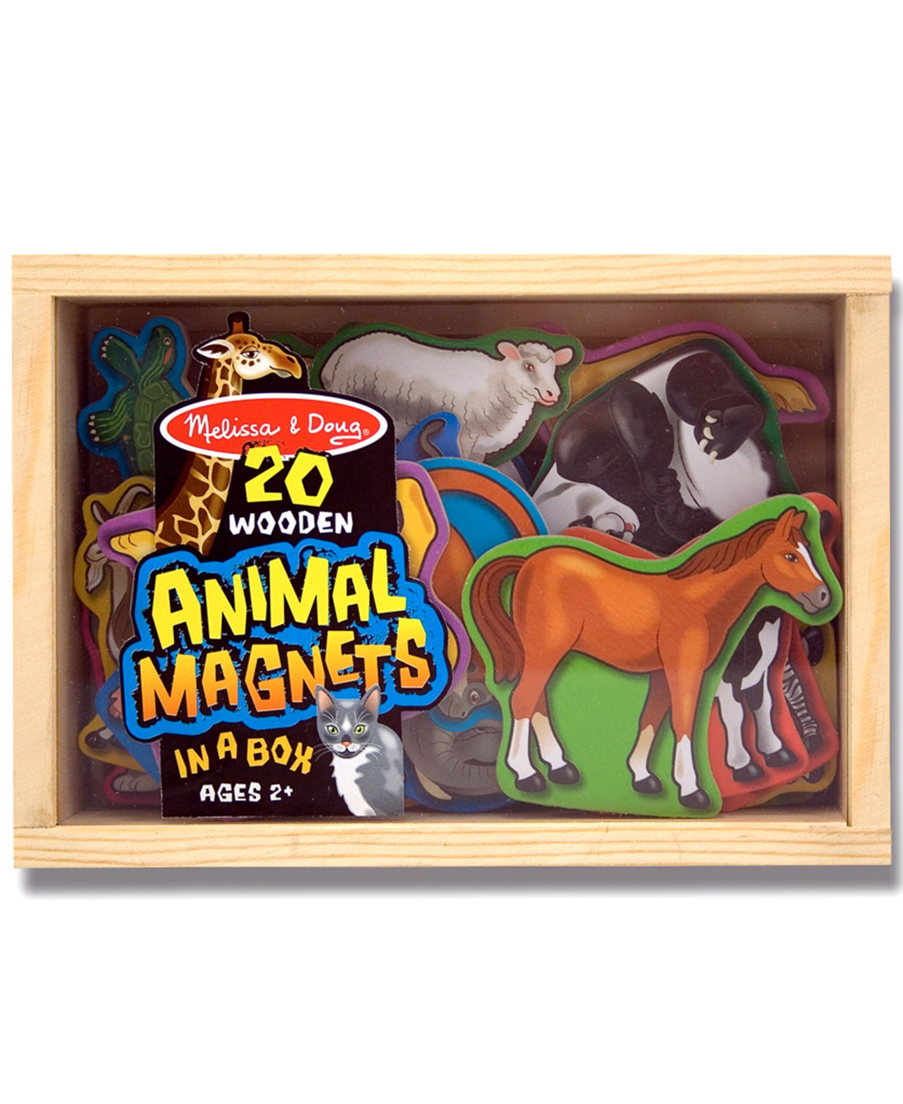 Wooden Magnetic Animals Melissa /& Doug Kids Toy