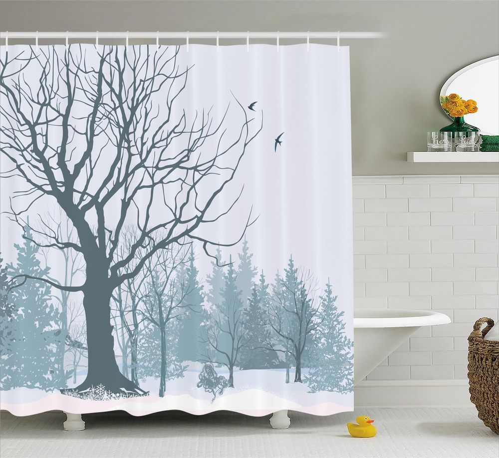 Fabric Shower Curtain with digital printing. Printed by state of the ...