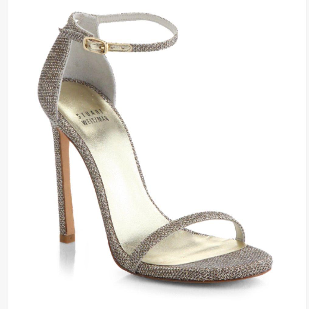 Bridal Shoes Saks: Stuart Weitzman Nudest Sandal