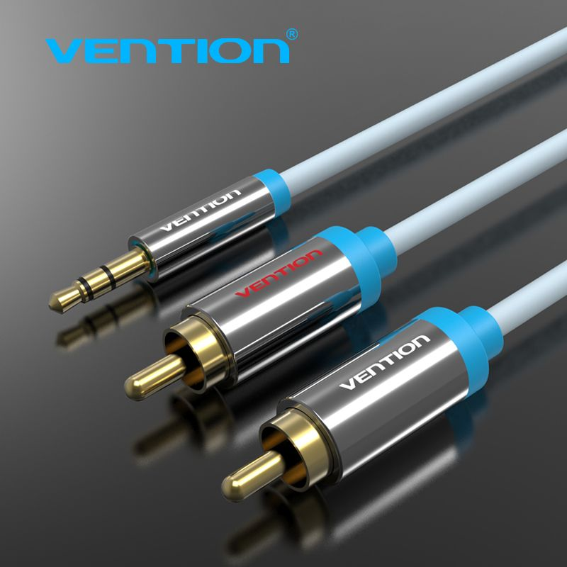 Vention Audios Cables RCA male to male Aux Video Cable one point ...