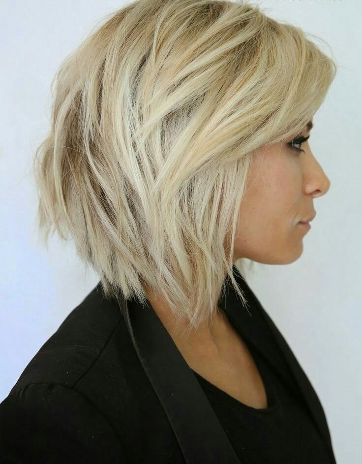 Pin de Katka Bellova en ucesy Pinterest Corte de pelo, Bobs