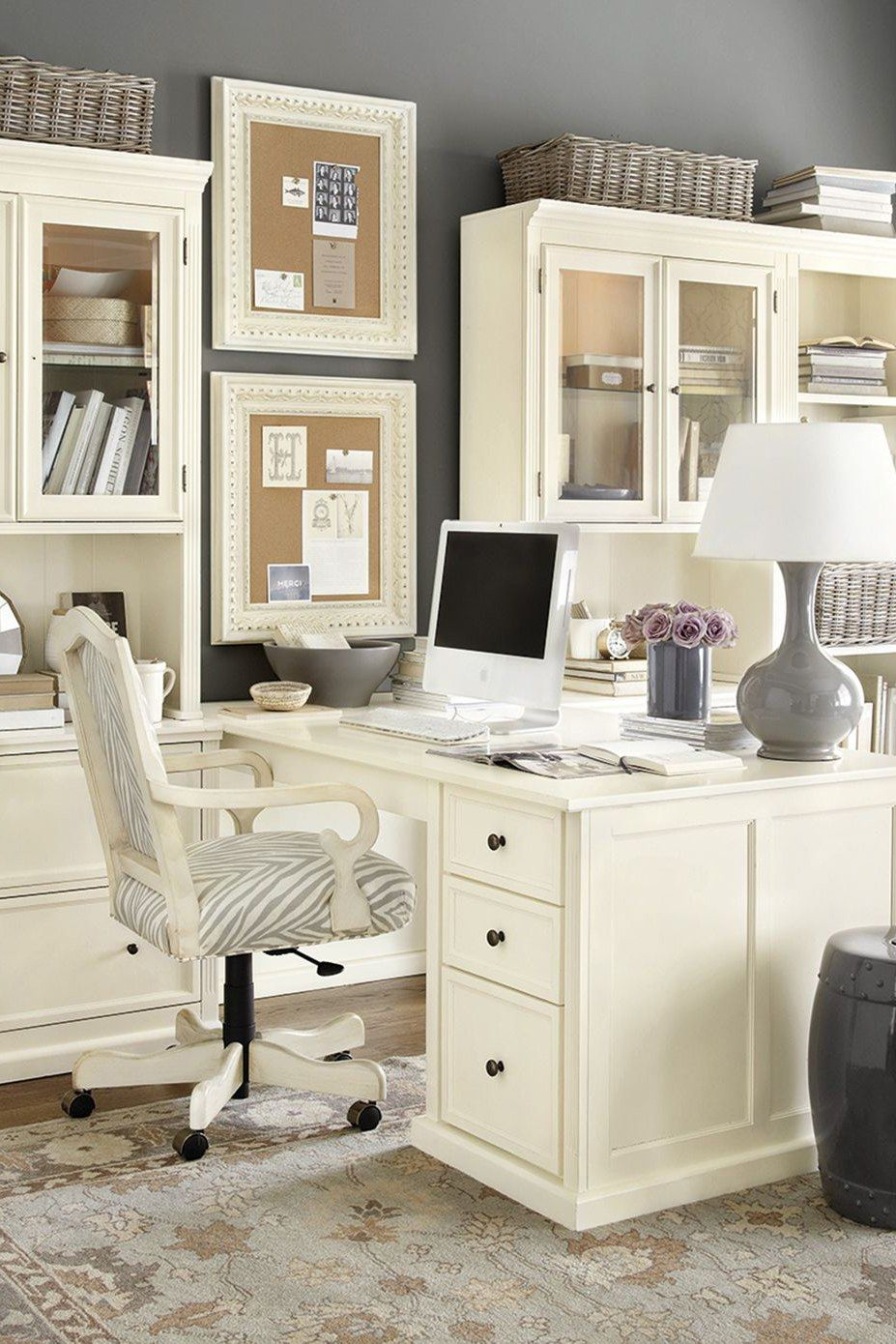 Home Office Decor. Home office and home study decor ideas, for ...