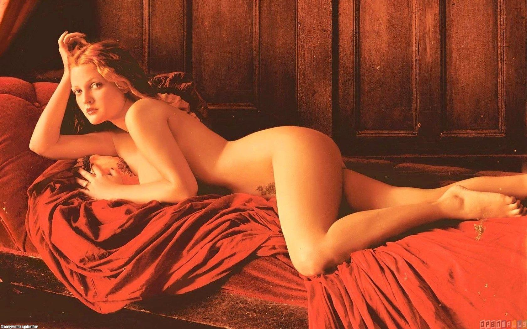 Watch Drew barrymore nude photos video