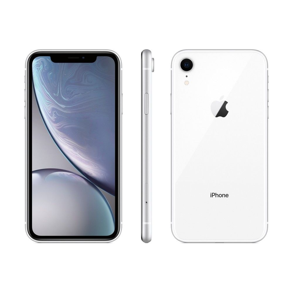 Apple iPhone XR (128GB) White in 2020 Iphone, Apple