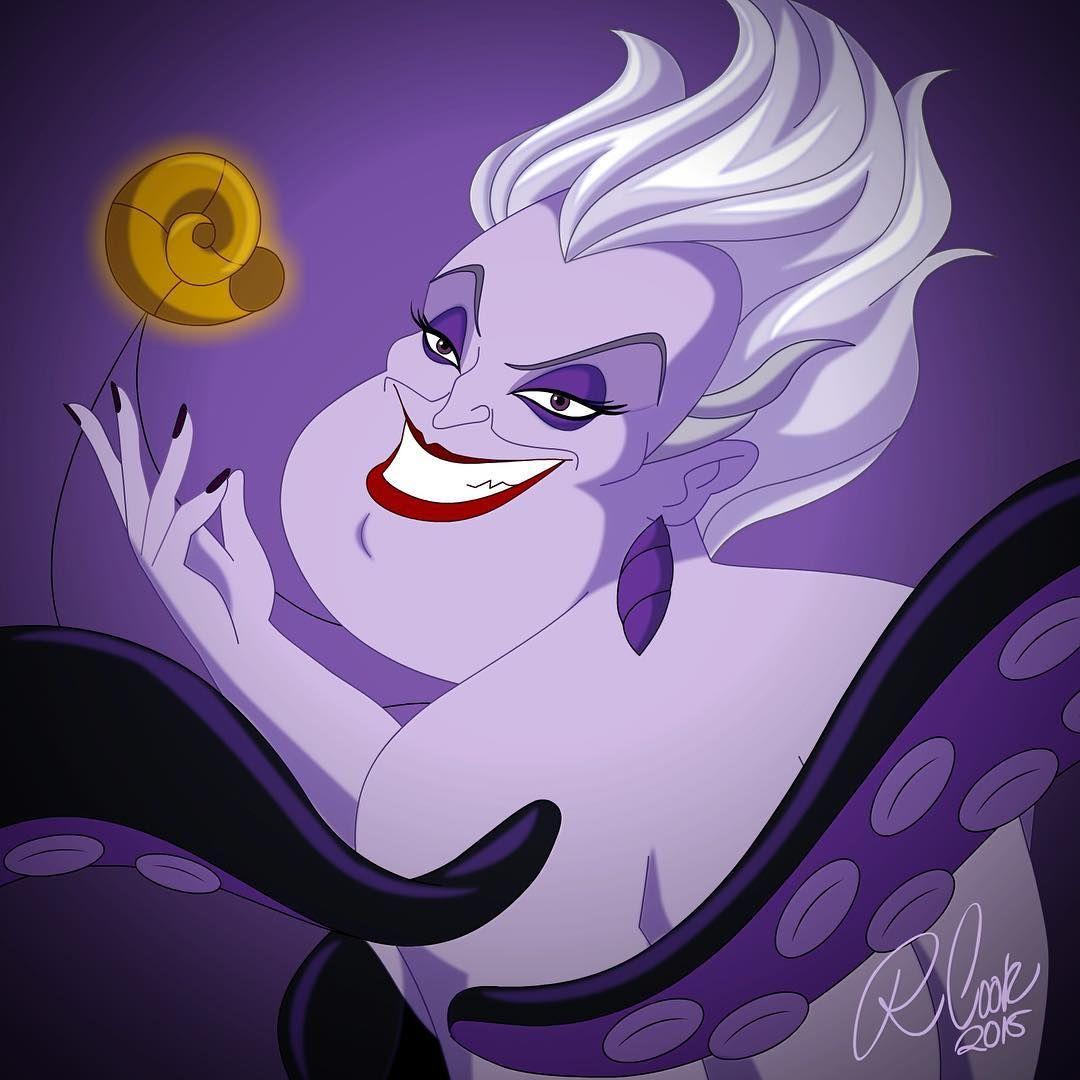 Famoso Villanos De Disney Para Colorear Ursula Imagen - Ideas ...
