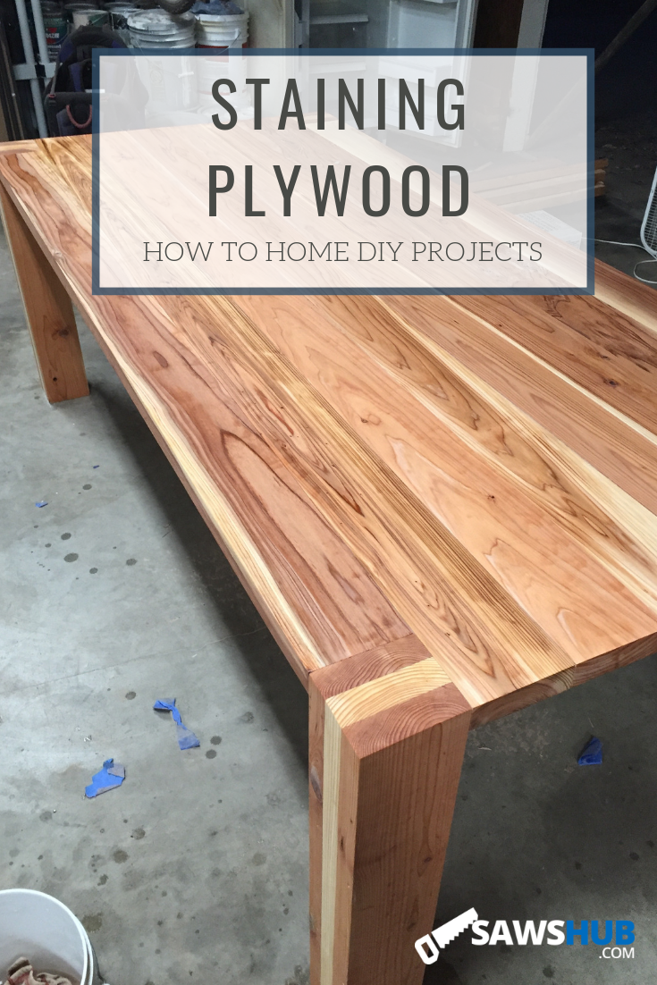 How To Select Stain And Finish Plywood For Woodworking Projects