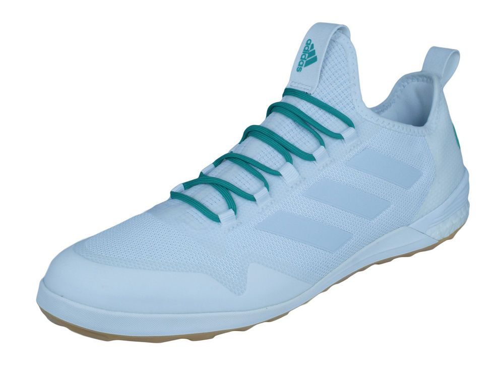 dc084f1aff60 adidas Ace Tango 17.1 IN Indoor Soccer Shoes Mens Futsal Cleats - White  (eBay Link)