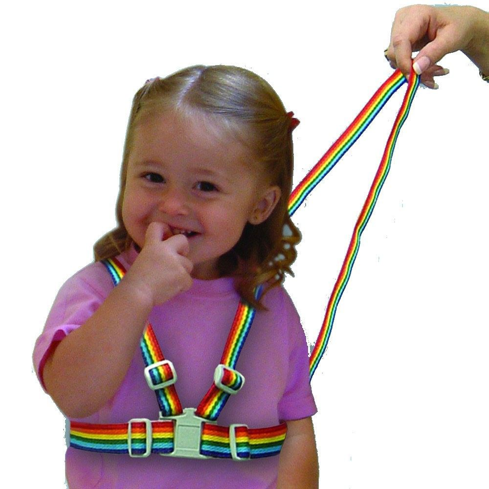 Walking Leash Tether Rainbow Dreambaby Child Toddler Safety Harness Reins