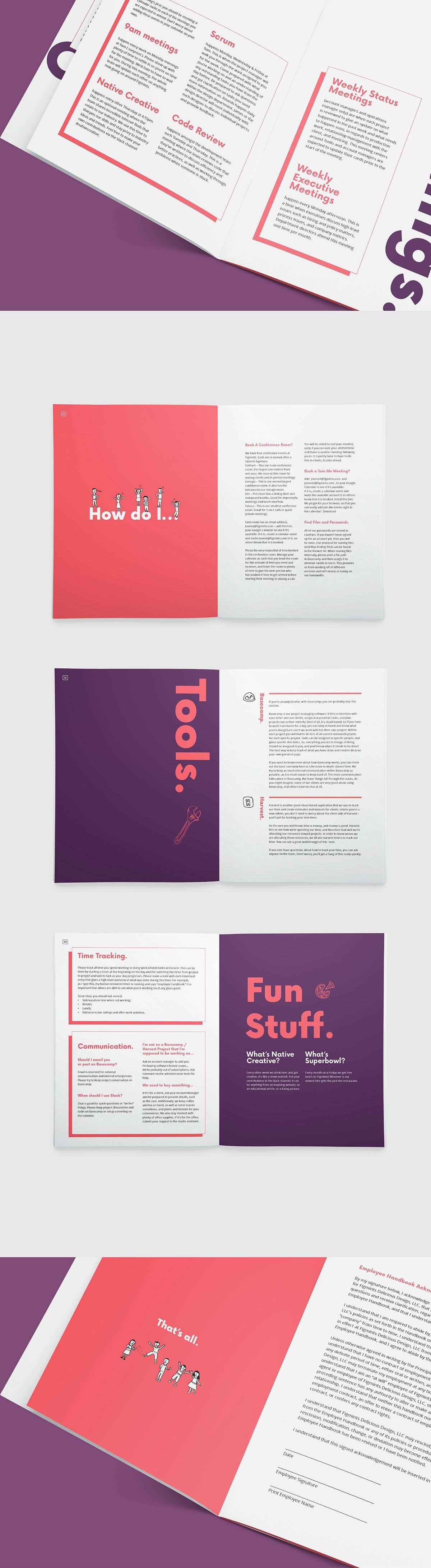 Figmints Employee Handbook On Risd Portfolios Employee Handbook