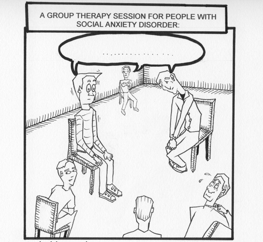 Social Anxiety Group Therapy by Bit-wize.deviantart.com