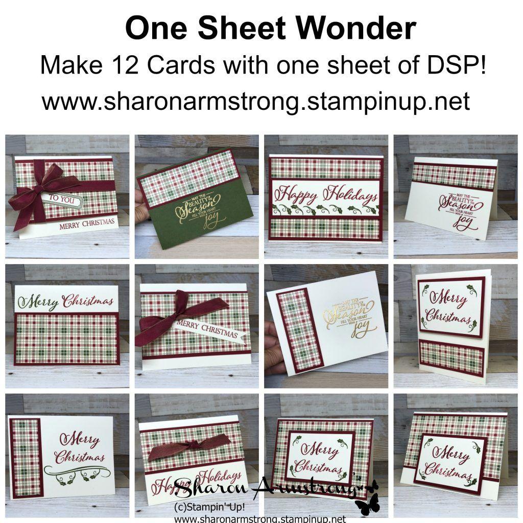 World Card Making Day One Sheet Wonder | Stampin' Up ... - photo#33