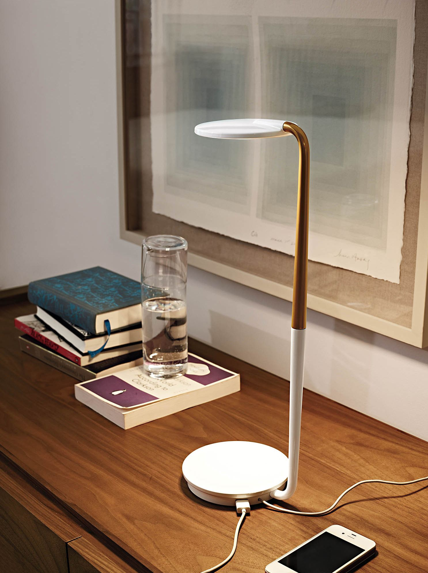 pixo optical led table lamp things for the home table lamp lamp rh pinterest com