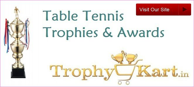 Trophykart, India's largest #TableTennis #trophy manufacturer and supplier having vast collection of Table Tennis #Trophies with better-quality customer service, guaranteed low prices.