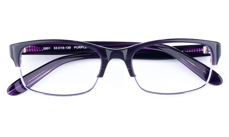 0189b643a6 Vista Sport 0901 Stainless Steel ZYL Mens Womens Oval Semi-rimless Optical  Glasses for Fashion