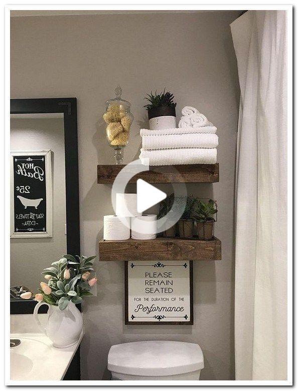Photo of 40 bagno idee fai da te Antica fattoria rustica decorazione 35