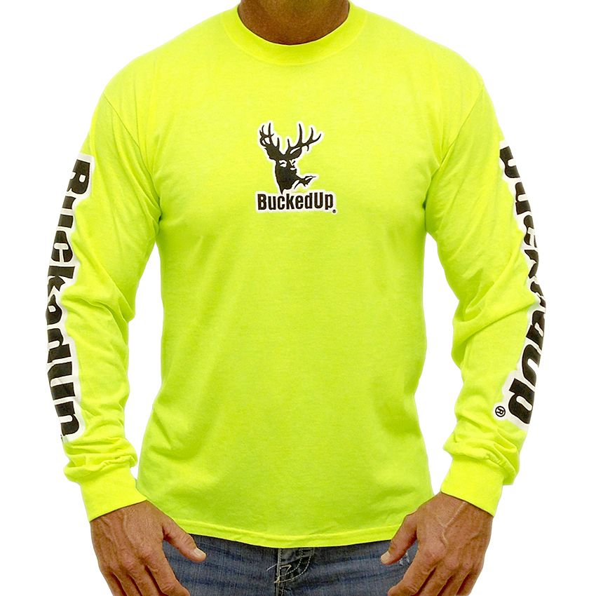 bucked up apparel men s bucked up long sleeve tee shirts