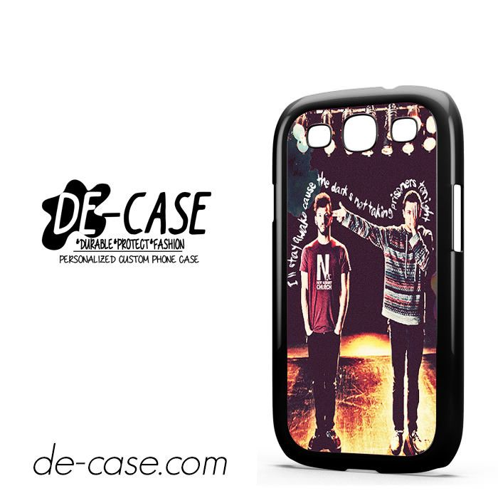 Twentyone Pilots Photo Art For Samsung Galaxy S3 Case Phone Case Gift Present YO