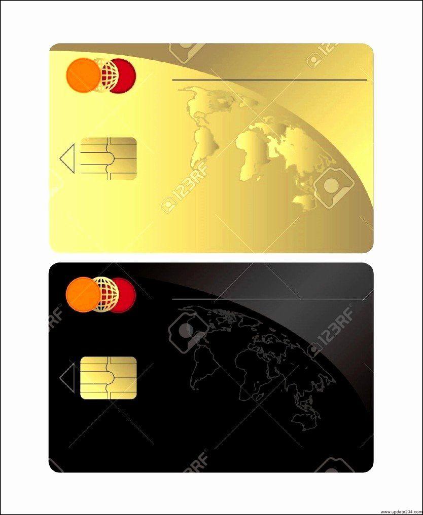 Visa Credit Card Template Elegant Blank Credit Card Template Blank Visa Credit Card Template Credit Card Design Visa Credit Card Credit Card Images